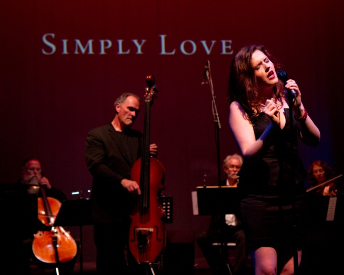 "September 21, 2013 at the Wildish Theater to celebrate the release of her album ""Simply Love."""
