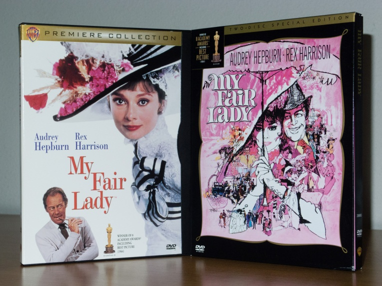 My Fair Lady DVD editions.