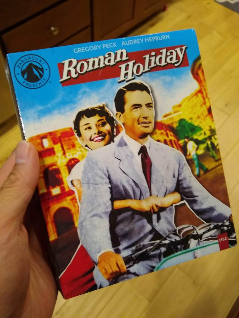 Roman Holiday Blu-ray